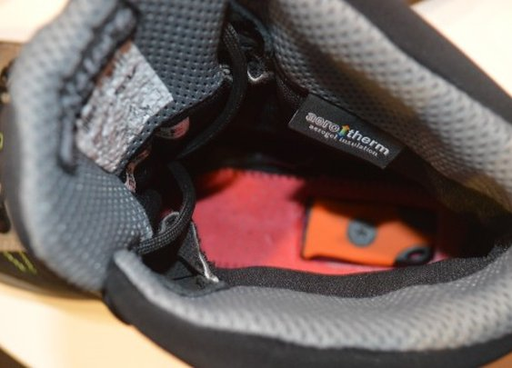 Substratum hiking boots incorporate emergency fire-starting kit