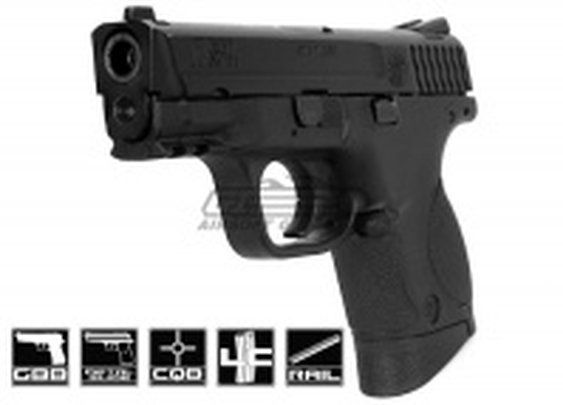 Smith & Wesson M&P; 9 Compact Semi/Full Auto GBB By VFC Airsoft Gun