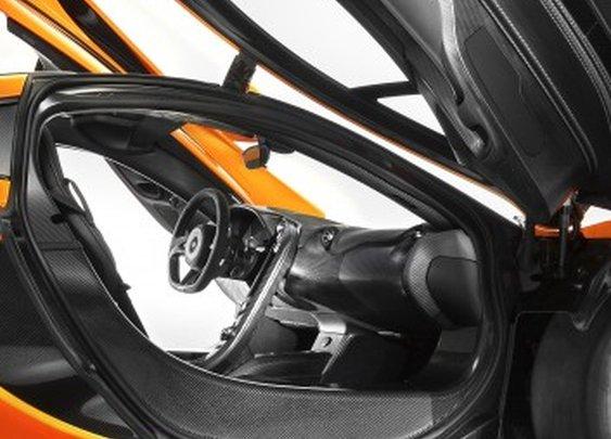 McLaren's carbon-saturated P1 interior revealed