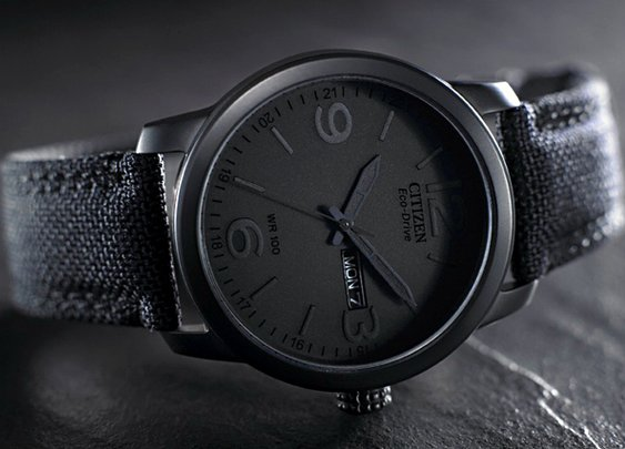 Citizen Eco Drive Stealth | Cool Material