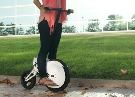 The SSIKE personal electric scooter