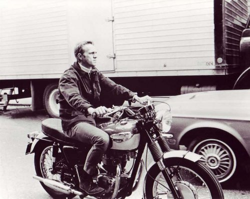 Famous Men and Their Motorcycles | The Art of Manliness