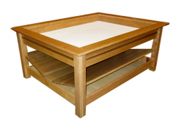 Secret Compartments in Coffee Table