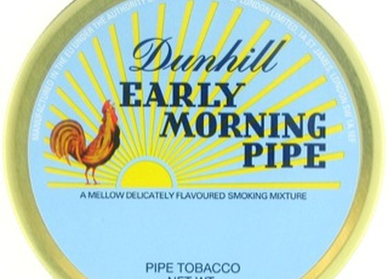 Dunhill Early Morning 50g Tin Pipe Tobacco - dunearlyam