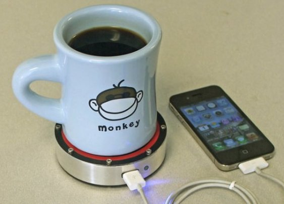 Epiphany onE Puck can charge your smartphone using your coffee cup | Digital Trends