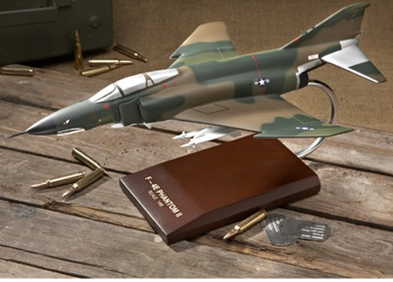 F-4E Phantom II Model (1/48 scale)   - Sporty's Wright Bros