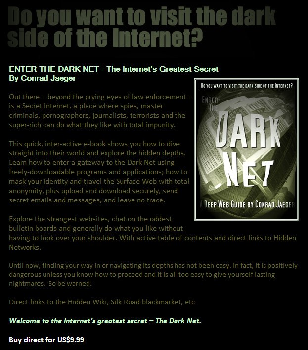 Do you want to visit the Dark Side of the Internet?