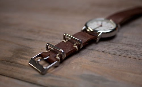 DIY Leather Watchstrap