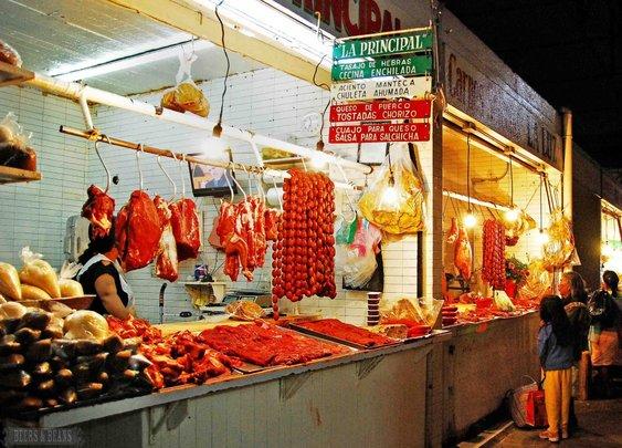 Oaxaca, Mexico market