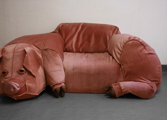 Google'd Pig Couch - yep, this exists