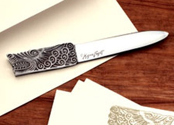 Mignon Faget Shop: Beast of Knowledge Letter Opener