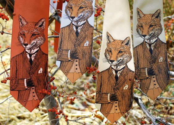 Dapper Fox Neckties | That Should Be Mine