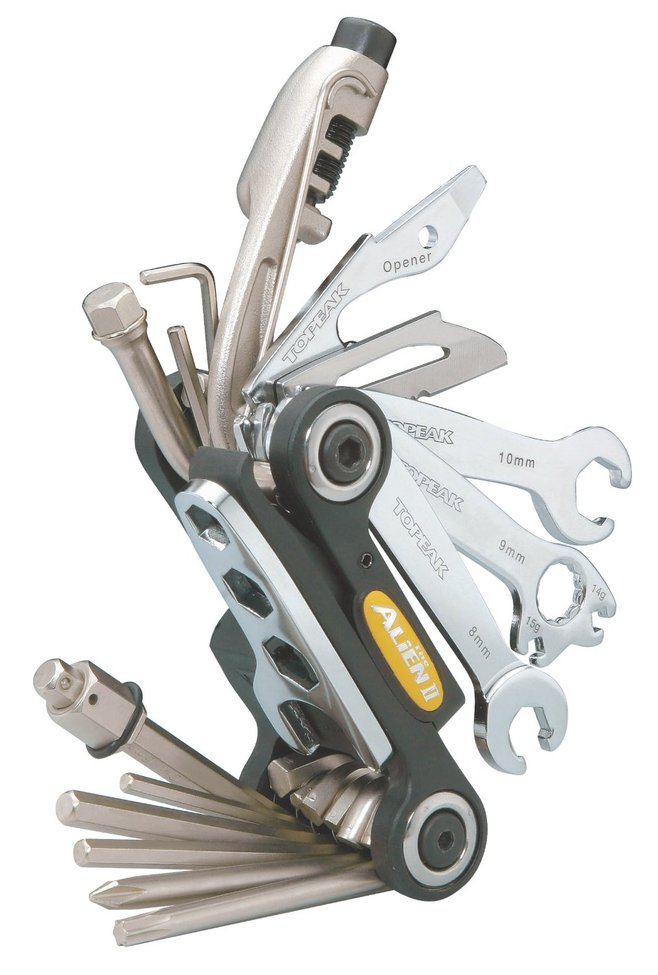 Lightweight bike multi tools