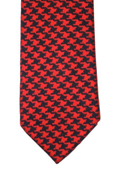 Vintage Brooks Brothers Wool Necktie Handmade by VintageMensGoods