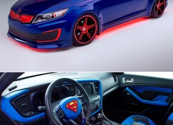 2013 Kia Optima Hybrid Superman | Car Pictures