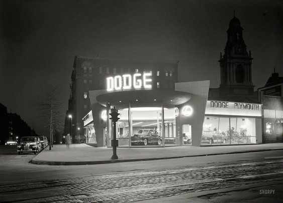 Shorpy Historical Photo Archive :: Dodge Noir: 1948