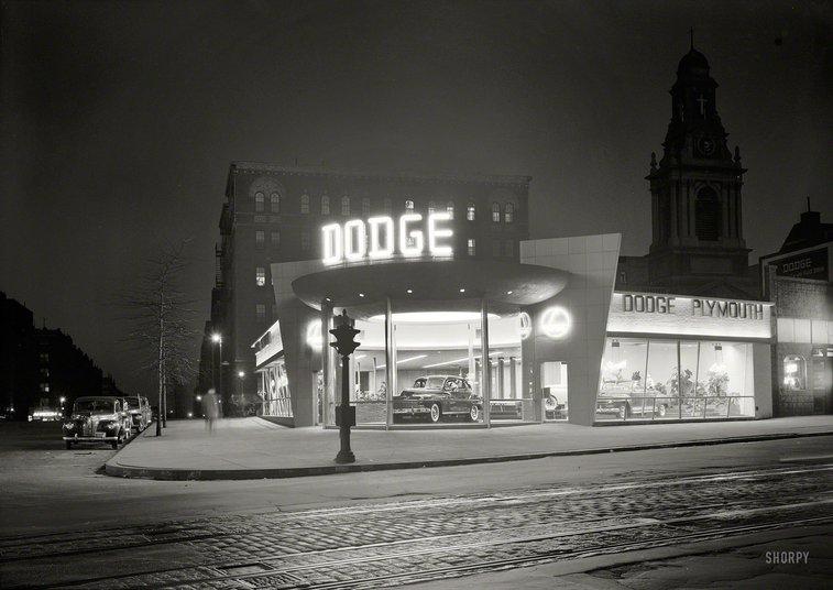 Shorpy Historical Photo Archive :: Dodge Noir: 1948