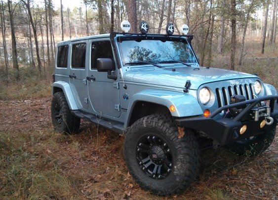 Jeep Wrangler Artic Edition