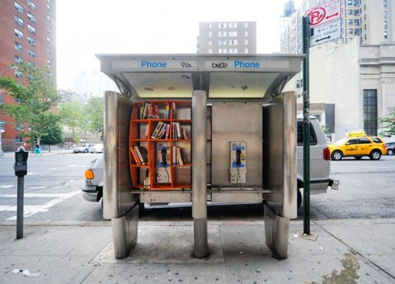 Four Amazing Mini Libraries That Will Inspire You to Read  | Architecture on GOOD