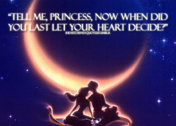 A Whole New World - Disney Quotes
