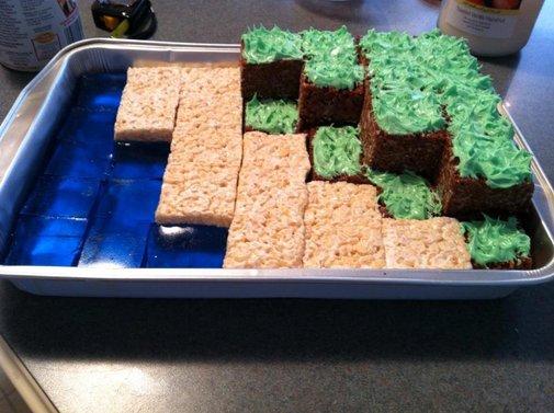 Minecraft Nerd Snacks