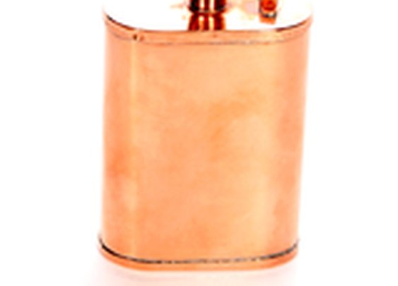 Kick Ass Copper Flask | Gifts for Men - Made in the USA | Owen & Fred