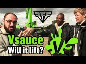 Can Two Phonebooks Lift a Car?  Vsauce and (Fast, Furious & Funny) Team Up to Find Out
