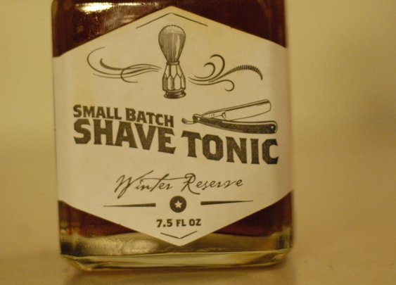 Small Batch Shave Tonic