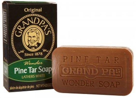 Grandpa Brands : Pine Tar Soap (4.25oz)