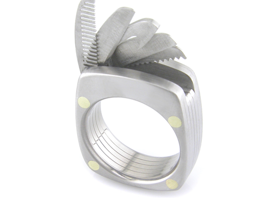The Titanium Man Ring