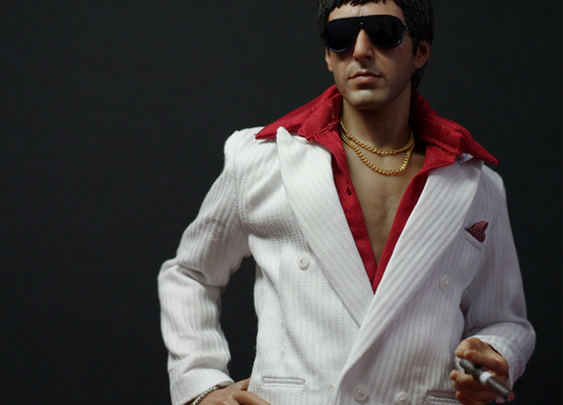 Super realistic Tony Montana Figure