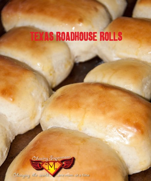 Copy-Cat Texas Roadhouse Rolls | Chasing Supermom