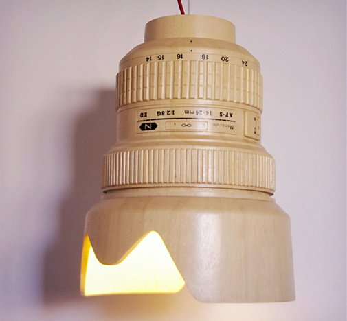 DSLR Camera Lens Lamp | Cool Material