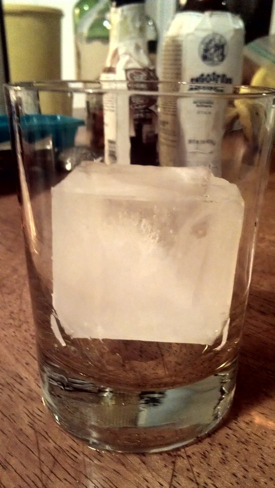 Ice. For a Real Cocktail.