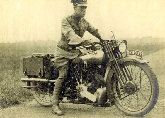 Famous Men and Their Motorcycles