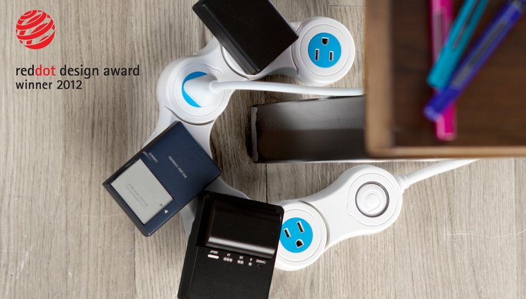 Pivot Power Flexible Power Strip | Quirky Products