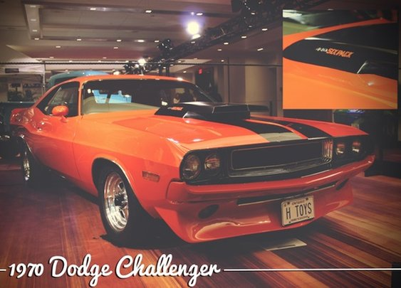 1970 Dodge Challenger at the 2013 Canadian International AutoShow