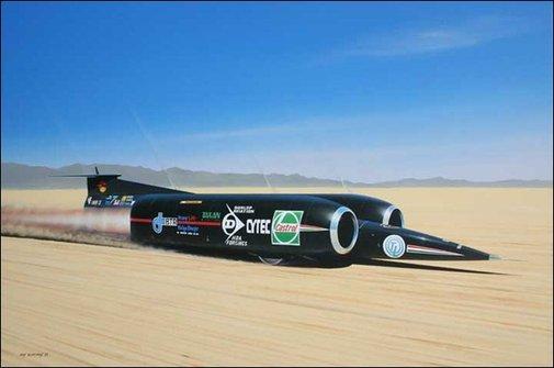 Thrust SSC - The fastest vehicle on land