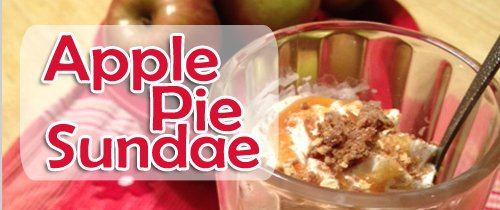 Apple Pie Sundae | Chasing Supermom