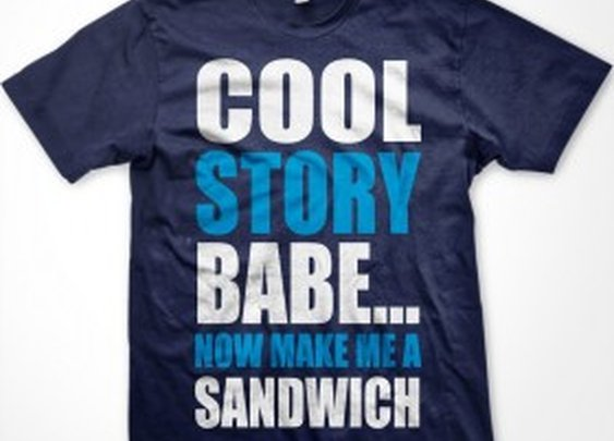 Cool Story Babe…T-Shirt | Cheaper Than A Shrink