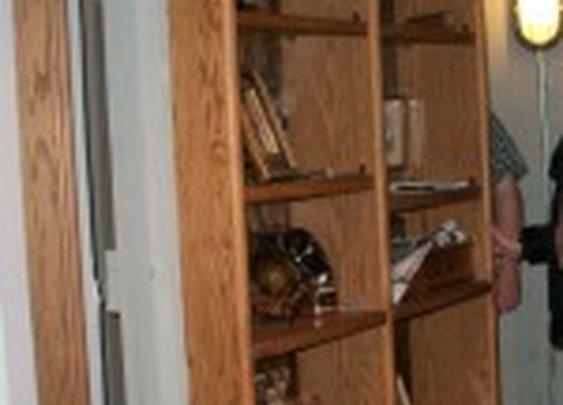 Secret Wine Cellar Behind Bookshelf Door