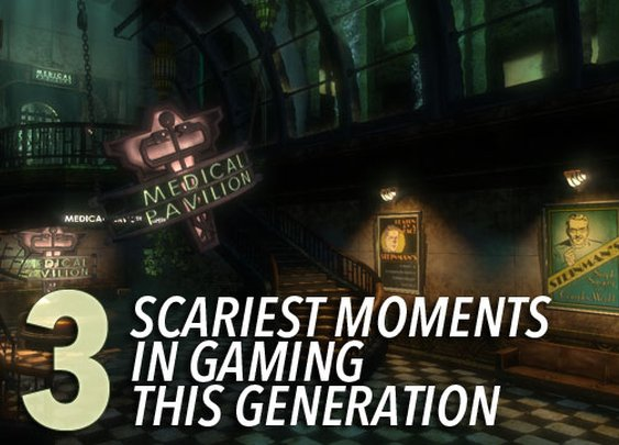 13 Scariest Moments in Gaming This Generation