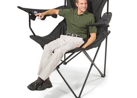 The Brobdingnagian Sports Chair - Hammacher Schlemmer