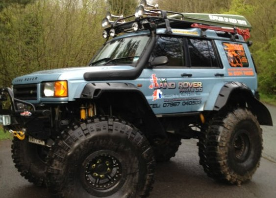 Land Rover Discovery II on 54's