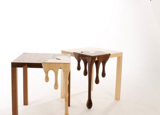 Chocolate art furniture-2 Fusion Tables