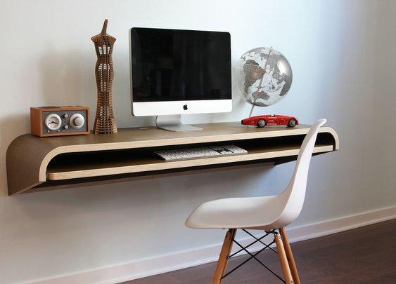 Orange22 Floating Desk   That Should Be Mine