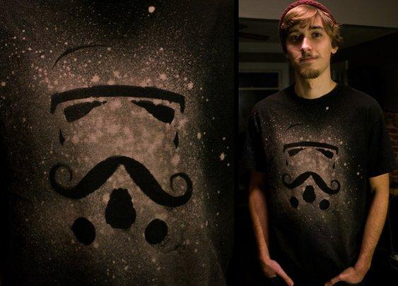 Star Wars and Mustaches T-Shirt by Sam Coleman — Kickstarter