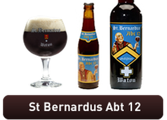 Saint Bernardus Watou Abt 12 - Quadrupel style Belgian Ale
