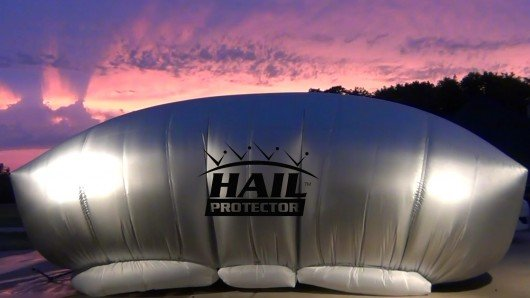 Hail Protector – The external airbag for your car