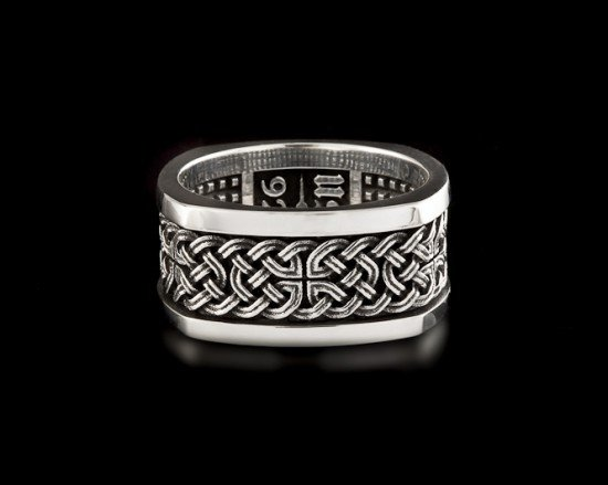 Celtic Knot Band - Rings  |  NightRider Jewelry